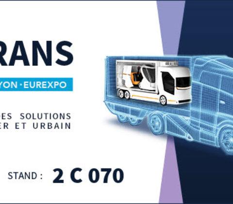 (Français) SOLUTRANS 2017 : NOUS Y SERONS !